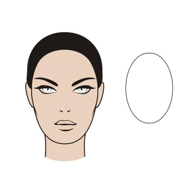 Овальная форма лица