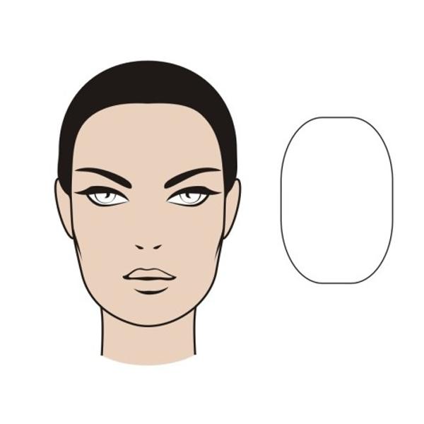 Продолговатая форма лица